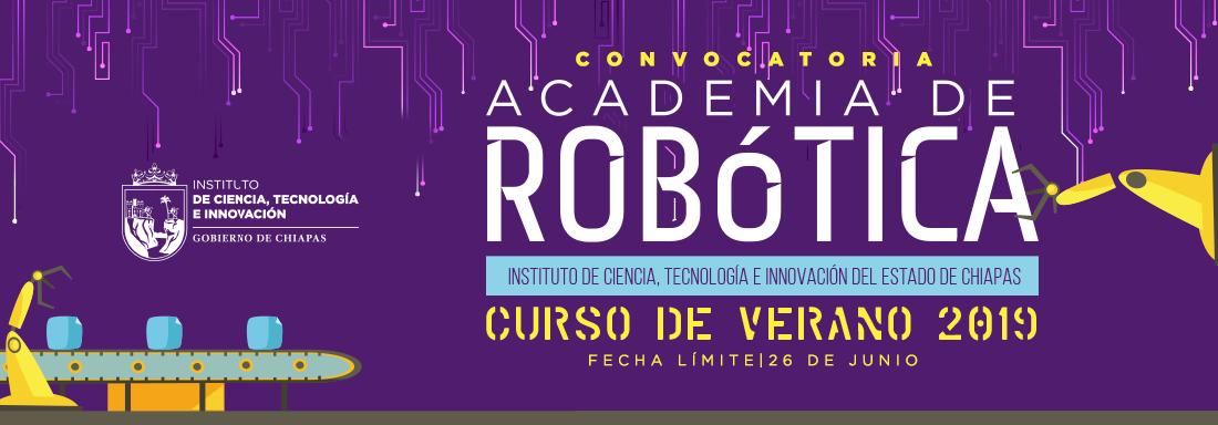 Convocatoria Curso de Verano de  Robótica 2019