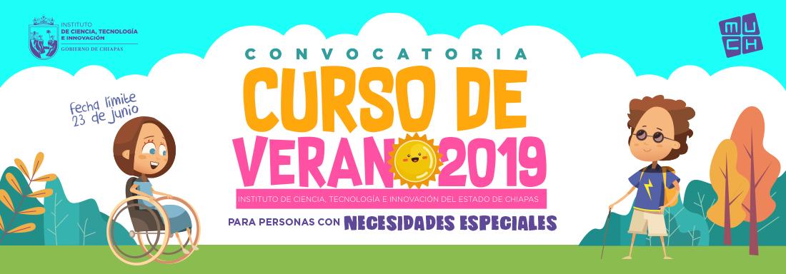 Convocatoria al Curso de Verano para Personas con Necesidades Especiales 2019