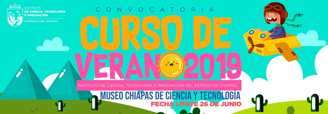 Convocatoria Curso de Verano Museo de Chiapas 2019