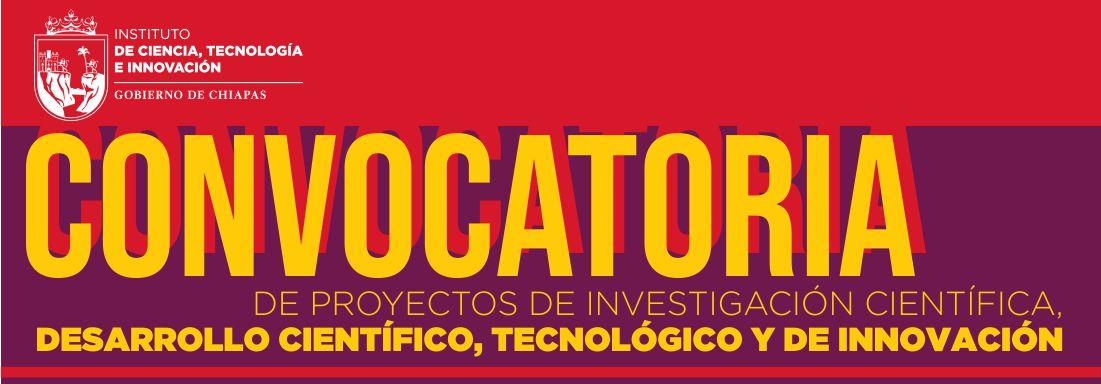 convocatoria proyectos investigacion cientifica 2019