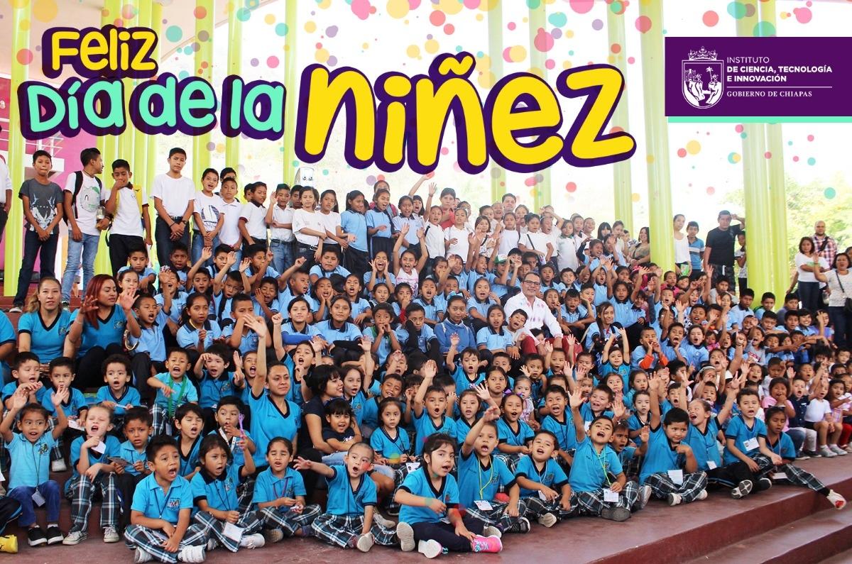 Celebra ICTI día de la niñez chiapaneca
